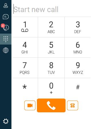 Mobile Connect Dialpad
